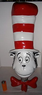 Large  Dr Seuss  Cat in Hat 1994 store display very nice condition well made