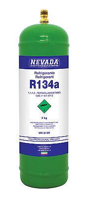 R134a 2,3lt. - Zylinder, 3,74.-€/100gr., NEU