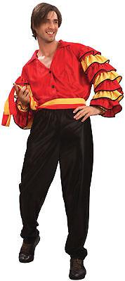 Rumba Costume Adult Samba Carnival Spanish Latin Fancy Dress](Male Spanish Costume)
