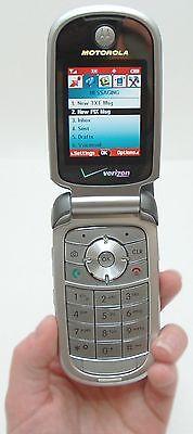 Motorola V series V325i - Silver Gray (Verizon) Cellular Phone Motorola V325i