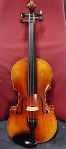 4/4 Ernst Heinrich Roth Label Violin Old Fine Strad 1724 copy Dundas Parramatta Area Preview