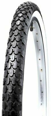 Kenda Cruiser Wire Bead Bicycle Tire, Whitewall, 26-Inch x 2