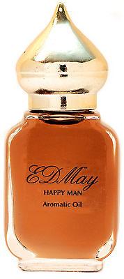 EDMay HAPPY MAN Cedar Fragrance & Aromatic Body Oil Skin-safe Cologne Masculine Aromatic Cedar Oil