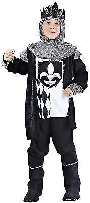 edler König Mittelalter Kostüm Gr. 110/122 6-teilig junger Burgherr