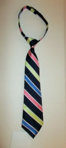 NEW BOYS GYMBOREE 2T-5T SPRING SUMMER EASTER STRIPED TIE ADJUSTIBLE FREE SHIP