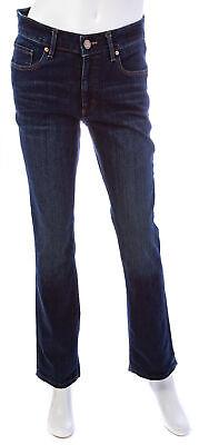 LOFT Curvy Straight Leg Jeans in Dark Indigo Wash Dark Wash Straight Leg Jean