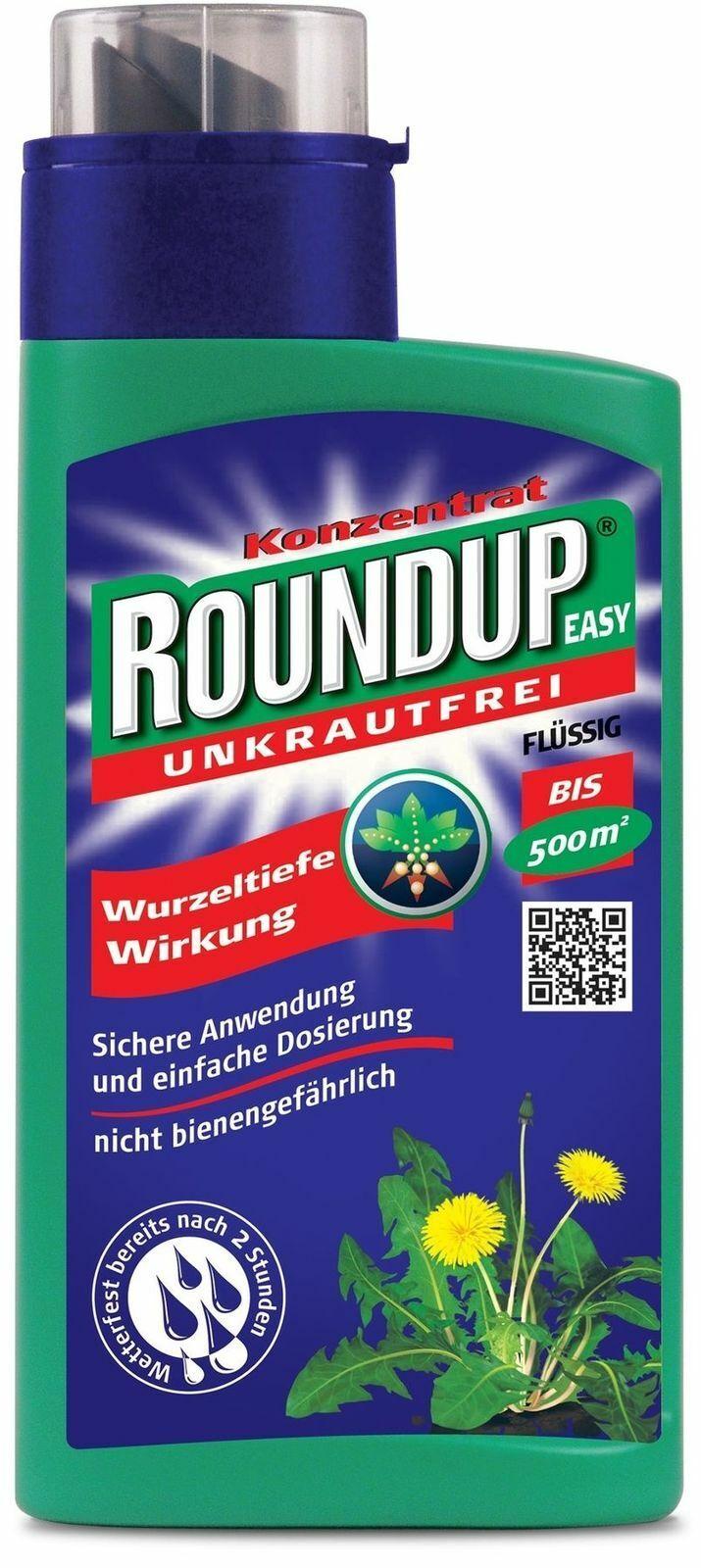 Roundup Easy Unkrautfrei 500 ml Konzentrat Unkrautvernichter Unkrautfrei