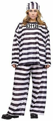 New Jailhouse Honey Plus Size Costume 2X 22W-24W by Fun World 110175 Costumania