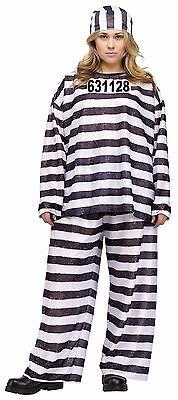 New Jailhouse Honey Plus Size Costume 2X 22W-24W by Fun World 110175 Costumania