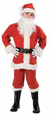 Child Santa Suit Christmas Costume ](Santa Costume Kids)