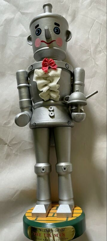 TIMMAN THE WIZARD OF OZ NUTCRACKER COLLECTION DOLL HAND CRAFTED 15 Inch
