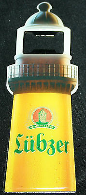 Lübzer Bier Flaschen Öffner Kapselöffner Leuchtturm NEU & OVP