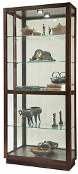 Howard Miller 680-575 (680575) Jayden Lighted Curio Cabinet - Espresso