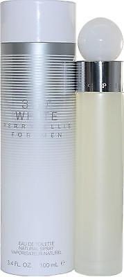 360 White By Perry Ellis 3 4 Oz Edt 3 3 Spray For Men New In Box
