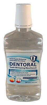 DAN Pharm DENTORAL Teeth Whitening Innovative Oral Rinse Dentist Recommende