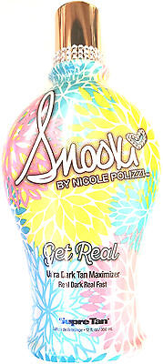 Snooki Get Real Ultra Dark Tan Maximizer Skin Firming Tan...