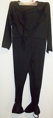 z- CLOTHES BOYS SMALL ONE PIECE BLACK SUPERHERO COSTUME BATMAN? NINJA? U CHOOSE