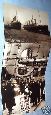 TITANIC Postcards Vintage Black & White B/w Sailor Old Belfast Irish Ireland WOW