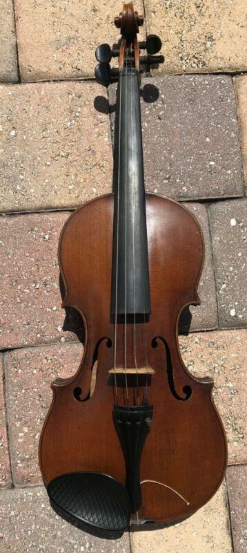 Antique Nicolaus Amatus Fecit in Cremona 16 4/4 Violin GermanyBEAUTIFUL WOOD
