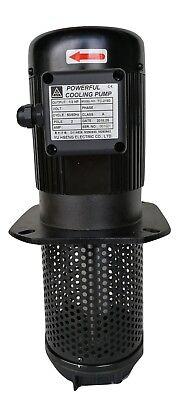 12hp Filtered Coolant Pump 1ph 110220v 180mm 7 Npt 1 Lathe Cnc Machine