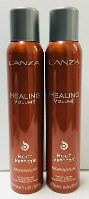 Lanza Healing Volume Root Effects Hair Styling Mousse - 2 Pack (7.1 oz each) - Lanza Root Effects