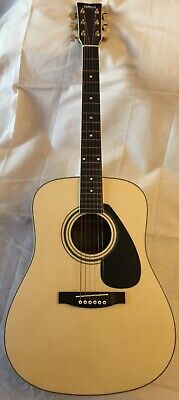 YAMAHA NATURAL BROWN 6 STRING FD-02 CLASSICAL FULL SIZE ACOUSTIC GUITAR + CASE