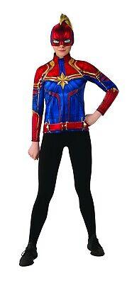 Rubies Captain Marvel Superheld Anzug Film Erwachsene Damen Halloween Kostüm