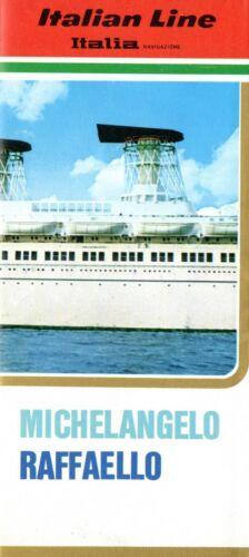 1960s MICHELANGELO & RAFFAELLO Color Interiors Brochure in French
