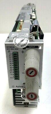 Hp Agilent Keysight N3302a 60v 30a 150w Electronic Load Module