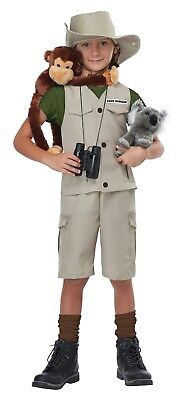Kids Wild Life Expert Archaeologist Park Ranger Zoo Keeper Halloween - Children's Zoo Keeper Costume