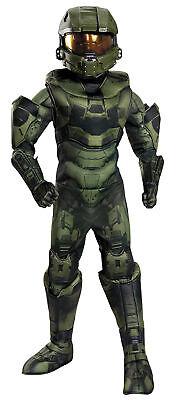 HALO Master Chief Prestige Child Costume Boys Soldier - Childs Halo Kostüme