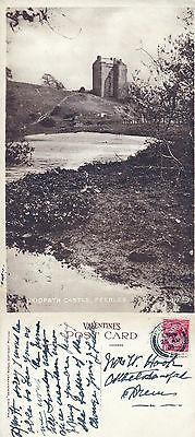 1939 NEIDPATH CASTLE PEEBLES SCOTLAND POSTCARD