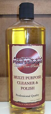 Aulwood Multi-purpose Wood Cleaner and Polish 32oz Made in USA