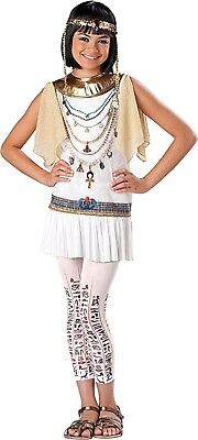 Egyptian Princess Halloween Costume (Girls' Tween Kids Cleopatra Egyptian Princess Halloween Party Costume Size L)