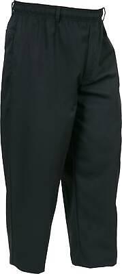 Mercer Millennia Apparel Unisex Chef Pants Black Med