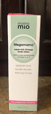 Mama Mio Megamama Super Rich Omega Body Lotion Stretch Marks Scars 5.1 fl oz