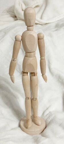 IKEA, GESTALTA Artist Wooden Mannequin Poseable Figure, 13 Inches Tall, 21576