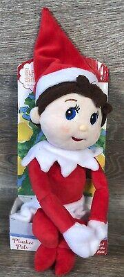 Girl elf on the shelf plushee Doll Blue Eyes