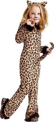 Fun World Pretty Leopard Cats Animals Childrens Kids Halloween Costume 114972 - Pretty Leopard Child Costume
