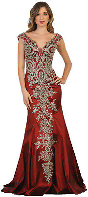 Red Carpet Sale (SALE! PROM EVENING SPECIAL OCCASION DRESS STRETCHY FITTED RED CARPET FORMAL)