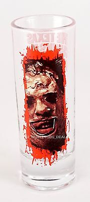 Universal 2016 Halloween Horror Nights 26 HHN Shot Glass Texas Chainsaw Massacre](Halloween Horror Nights Chainsaws)