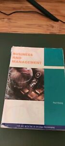 IB textbook Business and Management