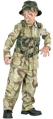 Child Delta Force Military Desert Army Costume  - Desert Army Costume