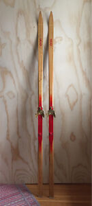Vintage Head LT Nordic Cross-Country Racing Skis