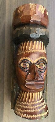 Handcarved Wooden Jamaica