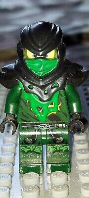 Evil Green Ninja-Possesed Lloyd, Minifigure, Near Mint Condition