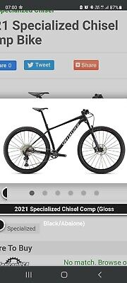Specialized chisel mountain bike large