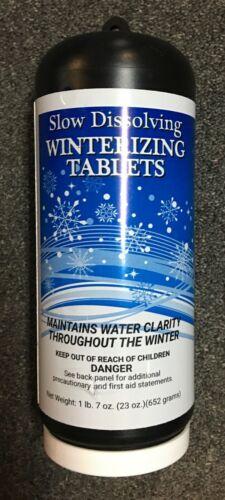 Slow Dissolving ALGAE KILLER  Pool Winterizing Tabs for 5000 Gal  WON