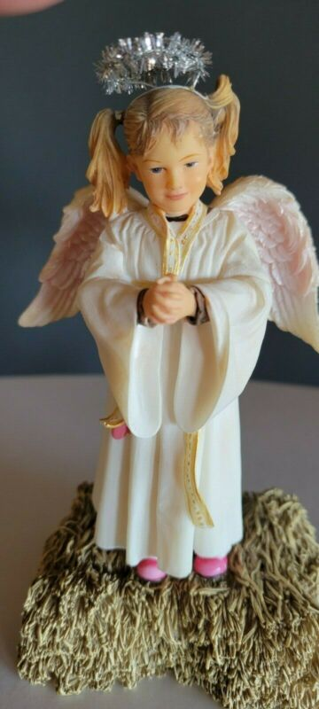 MAMA SAYS NATIVITY COLLECTION DEMDACO STANDING ANGEL By Kathy Fincher
