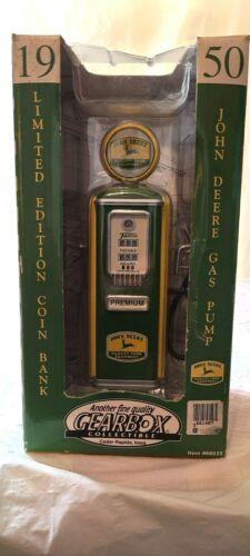 Gearbox Tokheim 1950 John Deere Gas Pump Coin Bank #66035